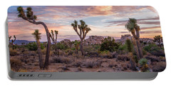 Twilight Comes To Joshua Tree Portable Battery Charger