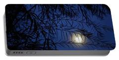 Twilight Moon Portable Battery Charger by Kerri Mortenson