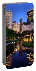 Twilight Nyc Portable Battery Charger by Brian Jannsen