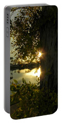 Portable Battery Charger featuring the photograph Twilight Splendor by Deb Halloran
