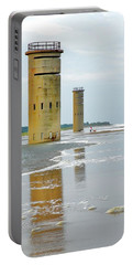 Twin Towers At Whiskey Beach Portable Battery Charger