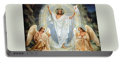 Two Angels Portable Battery Charger by Munir Alawi