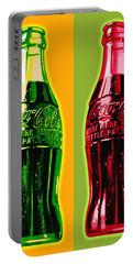 Two Coke Bottles Portable Battery Charger