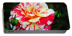 Two Colored Rose Portable Battery Charger