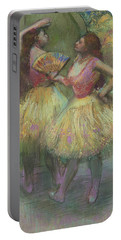 Two Dancers Before Going On Stage Portable Battery Charger