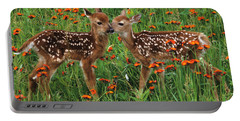 Two Fawns Talking Portable Battery Charger