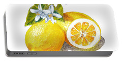 Two Happy Lemons Portable Battery Charger