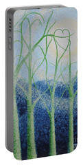 Two Hearts Portable Battery Charger by Holly Carmichael