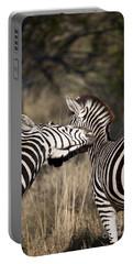 Two Plains Zebra Botswana Portable Battery Charger