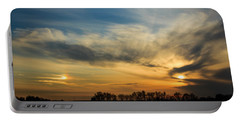 Two Suns Over Kentucky Portable Battery Charger