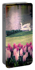 Two Swans Portable Battery Charger by Jasna Buncic