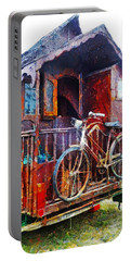 Two Wheels On My Wagon Portable Battery Charger
