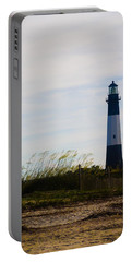 Tybee Island Lighthouse Portable Battery Charger by Jessica Brawley