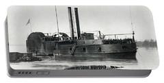 U S S Tyler Gunboat - Civil War - 1862 Portable Battery Charger