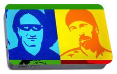 U2 Portable Battery Charger by John  Nolan
