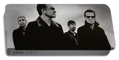U2 Portable Battery Charger by Paul Meijering