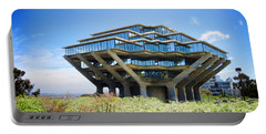 Portable Battery Charger featuring the photograph Ucsd Geisel Library by Nancy Ingersoll