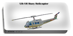 Uh-ih Huey Helicopter Portable Battery Charger
