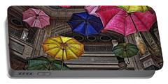 Umbrella Fun Portable Battery Charger by Joan  Minchak