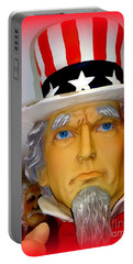 Uncle Sam Wants You Portable Battery Charger by Ed Weidman
