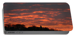 Portable Battery Charger featuring the photograph Under A Blood Red Sky by Neal Eslinger
