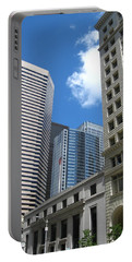 Under Seattle Blue Portable Battery Charger