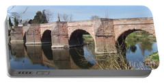 Portable Battery Charger featuring the photograph Under The Arches by Tracey Williams