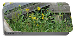 Portable Battery Charger featuring the photograph Under The Boardwalk by Laurel Powell
