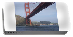 Under The Golden Gate - San Francisco Golden Gate Bridge 2006 - Scenic Photography - Ai P. Nilson Portable Battery Charger