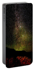 Portable Battery Charger featuring the photograph Under The Milky Way by Greg Norrell
