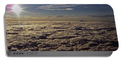 Portable Battery Charger featuring the photograph Undercast And Sun by Greg Reed