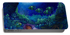Undersea Creatures Iv Portable Battery Charger