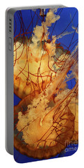 Underwater Friends - Jelly Fish By Diana Sainz Portable Battery Charger