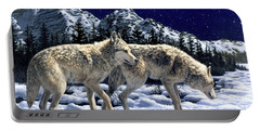 Wolves - Unfamiliar Territory Portable Battery Charger