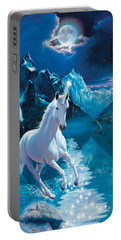 Unicorn Portable Battery Charger by Andrew Farley