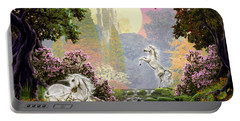 Unicorn New Born Portable Battery Charger by Garry Walton
