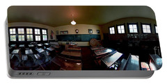 Union  Illinois One Room School House Portable Battery Charger by Tom Jelen