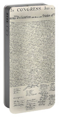 United States Bill Of Rights Portable Battery Charger