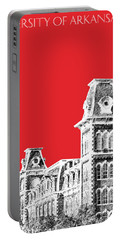 University Of Arkansas - Red Portable Battery Charger
