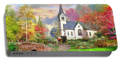 Autumnal Church Portable Battery Charger