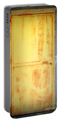 Portable Battery Charger featuring the photograph Unused Door by Clare Bevan