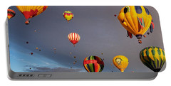 Portable Battery Charger featuring the photograph Up And Away by Dave Files