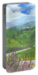 Up In The Mountains Portable Battery Charger