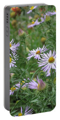 Uplifted Asters Portable Battery Charger