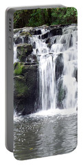 Portable Battery Charger featuring the photograph Upper Beaver Falls by Chalet Roome-Rigdon