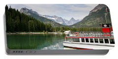 Portable Battery Charger featuring the photograph Upper Waterton Lakes by Teresa Zieba