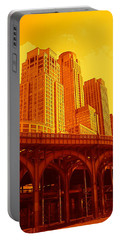 Upper West Side And Hudson River Manhattan Portable Battery Charger