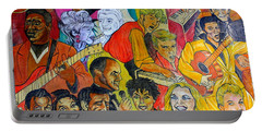 Portable Battery Charger featuring the photograph Urban Art New York City 3 by Dora Sofia Caputo Photographic Art and Design