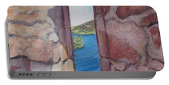Archers' Window Urquhart Ruins Loch Ness Portable Battery Charger
