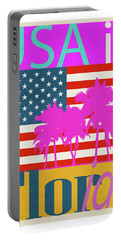 Usa Is Florida Portable Battery Charger